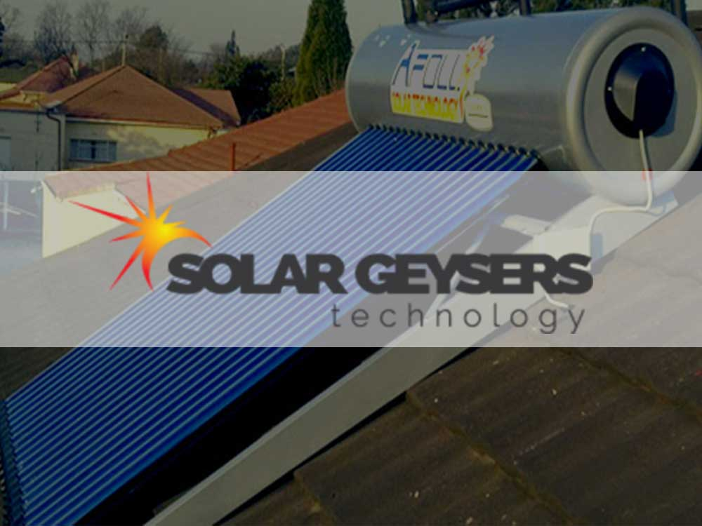 Solar Geysers Technology High Pressure Solar Geyers