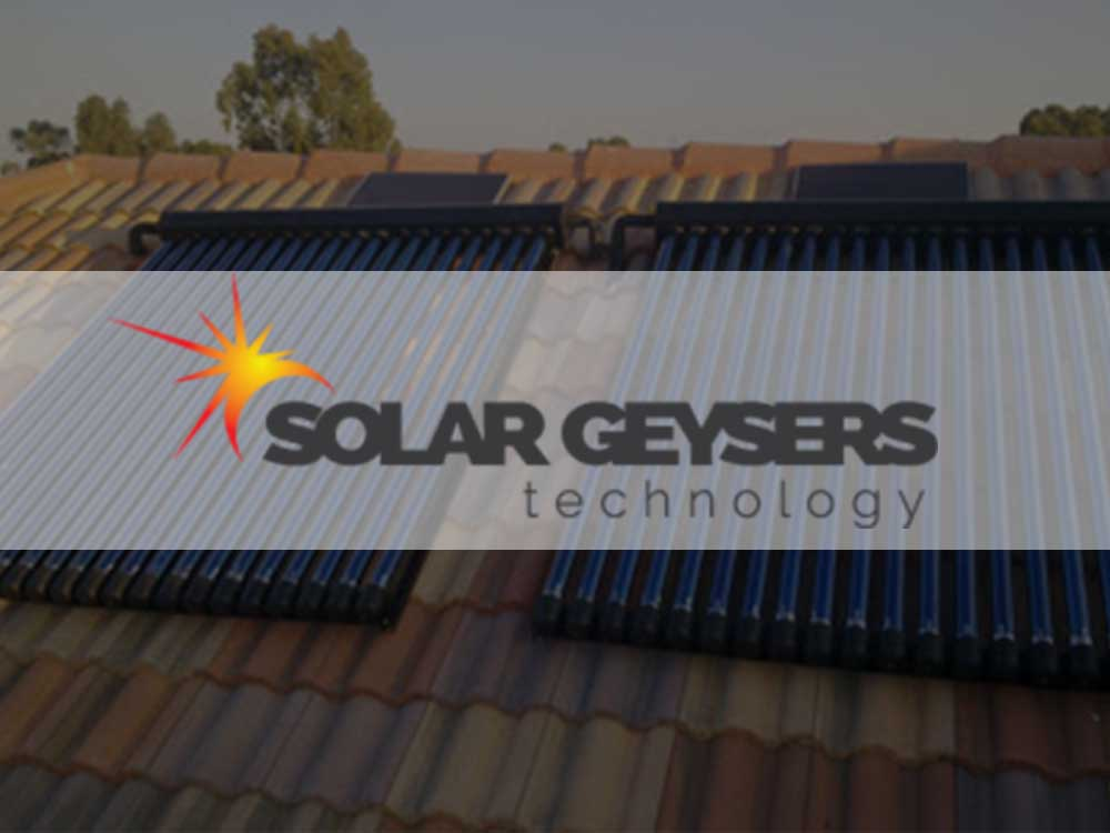 Solar Geysers Technology solar tube collectors